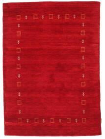 Gabbeh Indo Matto 122X170 Moderni Käsinsolmittu Punainen (Villa, Intia)