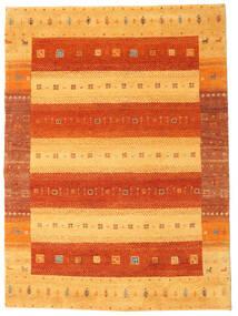 Gabbeh Indisk Teppe 169X230 Ekte Moderne Håndknyttet Orange (Ull, India)