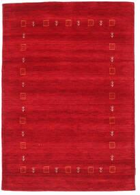 Gabbeh Indo Matto 120X170 Moderni Käsinsolmittu Punainen (Villa, Intia)