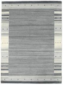 Gabbeh Indie Dywan 175X237 Nowoczesny Tkany Ręcznie Jasnoszary/Jasnoniebieski (Wełna, Indie)