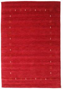 Gabbeh Indie Dywan 162X235 Nowoczesny Tkany Ręcznie Czerwony (Wełna, Indie)