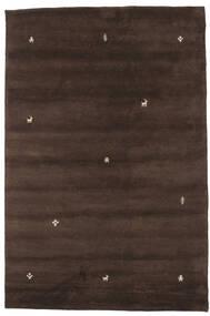 Gabbeh Indie Dywan 197X298 Nowoczesny Tkany Ręcznie Ciemnobrązowy (Wełna, Indie)