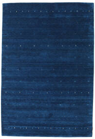 Gabbeh Indo Rug 207X300 Authentic  Modern Handknotted Dark Blue (Wool, India)