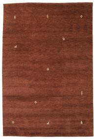 Gabbeh Indisk Matta 200X299 Äkta Modern Handknuten Mörkröd/Mörkbrun (Ull, Indien)