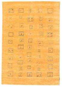Gabbeh Indisk Teppe 169X242 Ekte Moderne Håndknyttet Orange (Ull, India)