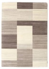 Gabbeh Indo Matto 169X238 Moderni Käsinsolmittu Vaaleanharmaa/Beige (Villa, Intia)