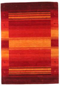 Gabbeh Indo Matto 164X230 Moderni Käsinsolmittu Ruoste/Tummanpunainen/Punainen/Oranssi (Villa, Intia)