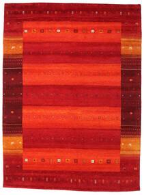 Gabbeh Indiaas Vloerkleed 251X340 Echt Modern Handgeknoopt Rood/Oranje/Roestkleur Groot (Wol, India)