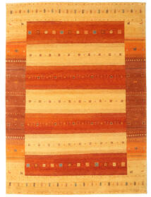 Gabbeh Indo Rug 240X331 Authentic Modern Handknotted Rust Red/Light Brown/Orange (Wool, India)
