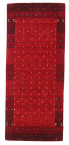 Gabbeh Indo Rug 83X198 Authentic  Modern Handknotted Hallway Runner  (Wool, India)
