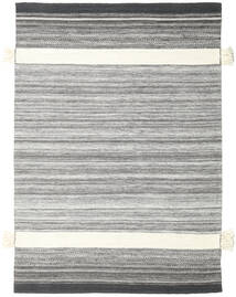 Fenix - Black Rug 170X240 Authentic  Modern Handwoven Light Grey/Beige (Wool, India)