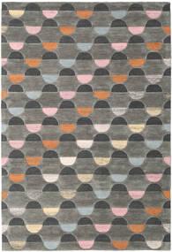 Candy - Grau/Multi Teppich  200X300 Moderner Dunkelgrau/Hellgrau (Wolle, Indien)