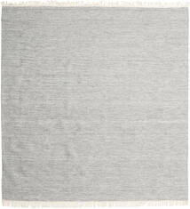 Melange - Grey Rug 300X300 Authentic  Modern Handwoven Square Light Grey/Beige Large (Wool, India)
