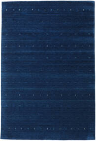 Gabbeh Indo Rug 203X300 Authentic  Modern Handknotted Dark Blue (Wool, India)