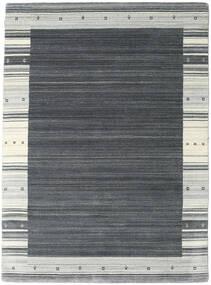 Gabbeh Indo Matto 174X238 Moderni Käsinsolmittu Tummanharmaa/Vaaleanharmaa (Villa, Intia)