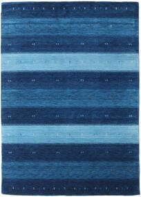 Gabbeh Indo Rug 165X231 Authentic  Modern Handknotted Dark Blue/Light Blue (Wool, India)