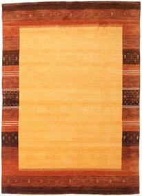 Gabbeh Indie Dywan 168X237 Nowoczesny Tkany Ręcznie Pomarańczowy/Rdzawy/Czerwony (Wełna, Indie)