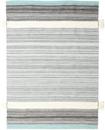 Fenix - Turquoise Rug 170X240 Authentic  Modern Handwoven Light Grey/Beige/White/Creme (Wool, India)