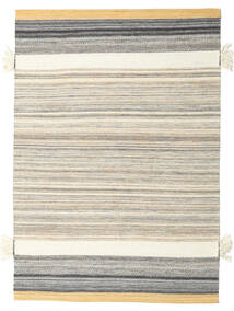 Fenix - Yellow Rug 140X200 Authentic  Modern Handwoven Light Grey/Beige (Wool, India)