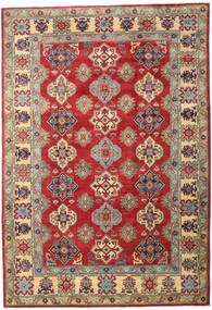 Kazak Rug 200X292 Authentic  Oriental Handknotted Dark Brown/Rust Red (Wool, Pakistan)