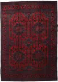 Afghan Khal Mohammadi Matto 205X292 Itämainen Käsinsolmittu Tummanpunainen (Villa, Afganistan)
