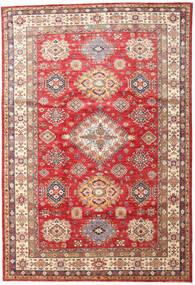 Kazak Tappeto 201X296 Orientale Fatto A Mano Marrone/Beige Scuro (Lana, Pakistan)