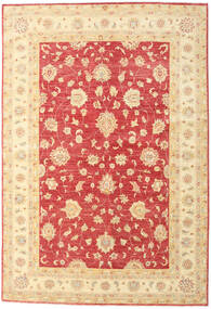 Ziegler Rug 172X252 Authentic  Oriental Handknotted Beige/Light Pink (Wool, Pakistan)