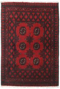 Afghan Rug 77X113 Authentic  Oriental Handknotted Dark Red/Black (Wool, Afghanistan)