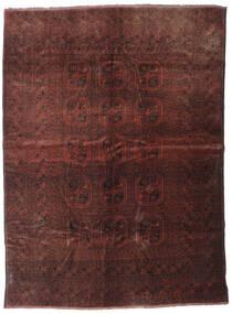 Beluch Matta 200X277 Äkta Orientalisk Handknuten Mörkröd/Mörkbrun (Ull, Afghanistan)