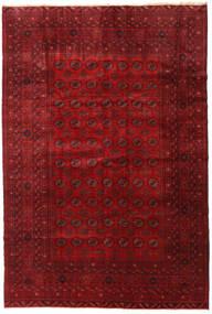 Beluch Χαλι 195X290 Ανατολής Χειροποιητο Σκούρο Κόκκινο/Kόκκινα (Μαλλί, Αφγανικά)