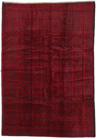 Baluch Rug 200X290 Authentic  Oriental Handknotted Dark Red/Dark Brown (Wool, Afghanistan)