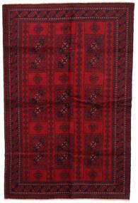 Belutsch Teppich 190X287 Echter Orientalischer Handgeknüpfter Dunkelrot/Dunkelbraun/Rot (Wolle, Afghanistan)