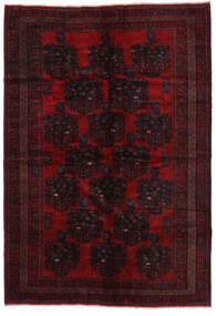 Baluch Rug 210X307 Authentic  Oriental Handknotted Dark Red (Wool, Afghanistan)
