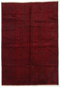 Beludż Dywan 200X300 Orientalny Tkany Ręcznie Ciemnoczerwony (Wełna, Afganistan)
