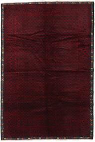 Baloutche Tapis 215X320 D'orient Fait Main Rouge Foncé (Laine, Afghanistan)