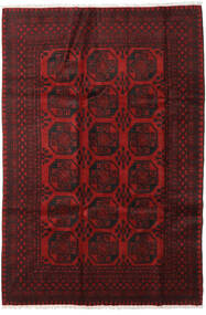 Afghan Rug 197X292 Authentic  Oriental Handknotted Dark Red/Dark Brown (Wool, Afghanistan)