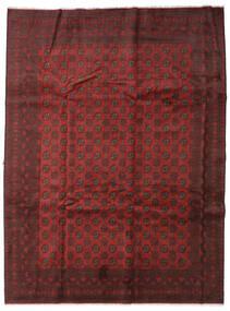 Afghan Matto 254X339 Itämainen Käsinsolmittu Tummanpunainen/Tummanruskea Isot (Villa, Afganistan)
