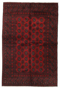 Afghan Rug 160X241 Authentic  Oriental Handknotted Dark Brown/Dark Red (Wool, Afghanistan)