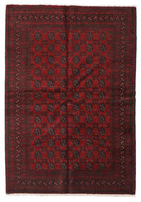 Afghan Rug 163X233 Authentic  Oriental Handknotted Dark Red/Dark Brown (Wool, Afghanistan)