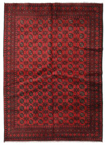 Afghan Rug 169X235 Authentic  Oriental Handknotted Dark Red/Crimson Red (Wool, Afghanistan)