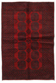 Afghan Rug 166X241 Authentic  Oriental Handknotted Dark Red/Dark Brown (Wool, Afghanistan)