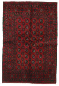 Afghan Rug 161X236 Authentic  Oriental Handknotted Dark Red/Dark Brown (Wool, Afghanistan)