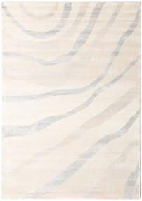 Wavy - Beige/Grey Rug 140X200 Modern Beige/Light Grey ( Turkey)