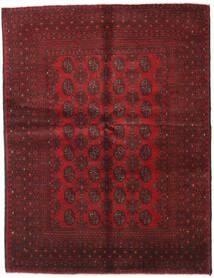Afgan Dywan 154X200 Orientalny Tkany Ręcznie Ciemnoczerwony/Ciemnobrązowy (Wełna, Afganistan)