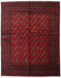 Afgan Dywan 152X194 Orientalny Tkany Ręcznie Ciemnoczerwony (Wełna, Afganistan)