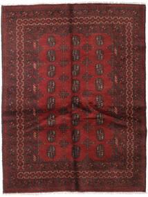 Afgan Dywan 148X192 Orientalny Tkany Ręcznie Ciemnoczerwony/Ciemnobrązowy (Wełna, Afganistan)