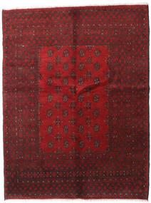 Afgan Dywan 150X195 Orientalny Tkany Ręcznie Ciemnoczerwony/Ciemnobrązowy (Wełna, Afganistan)
