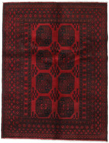 Afghan Rug 146X188 Authentic  Oriental Handknotted Dark Brown/Dark Red (Wool, Afghanistan)