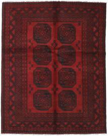Afghan Rug 148X189 Authentic  Oriental Handknotted Dark Red/Dark Brown (Wool, Afghanistan)