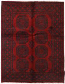 Afgan Dywan 156X200 Orientalny Tkany Ręcznie Ciemnoczerwony/Ciemnobrązowy (Wełna, Afganistan)